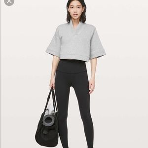 Lululemon Know Your Angles Poncho Small Gray